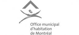 Logo Office municipal d'habitation de Montréal