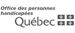 Logo Office des personnes handicapées du Québec