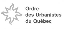 Logo Ordre des urbanistes du Québec