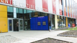 Main entrance of the Notre-Dame-de-Grâce Cultural Centre, Montreal